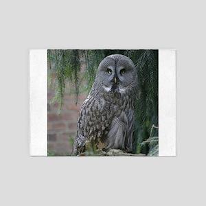 Owl_2015_0203 5'x7'Area Rug