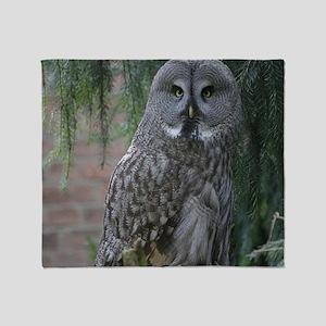 Owl_2015_0203 Throw Blanket
