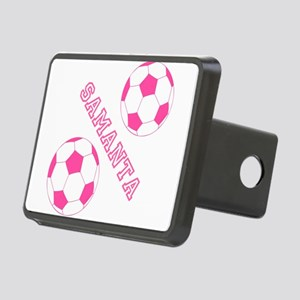 Soccer Girl Personalized Hitch Cover