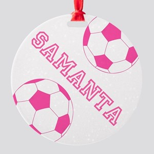 Soccer Girl Personalized Ornament