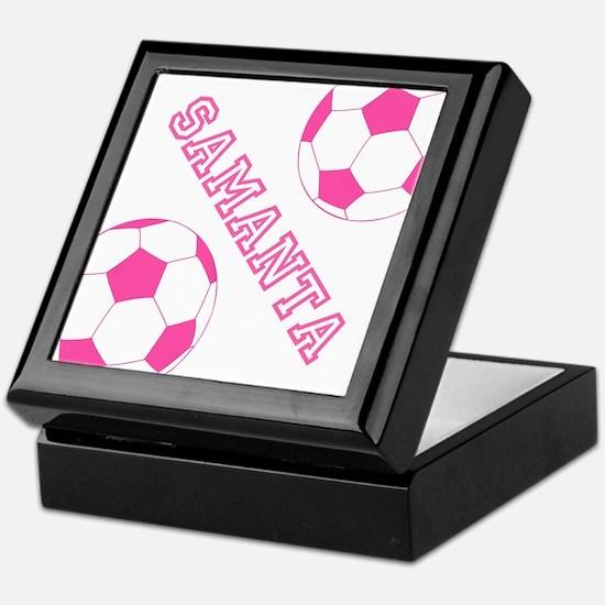 Soccer Girl Personalized Keepsake Box
