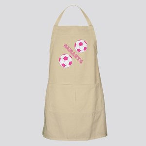Soccer Girl Personalized Apron