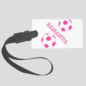Soccer Girl Personalized Luggage Tag