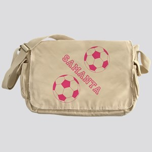 Soccer Girl Personalized Messenger Bag