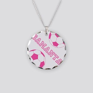 Soccer Girl Personalized Necklace