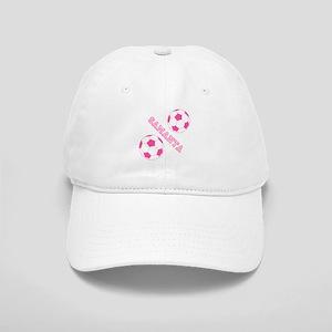 Soccer Girl Personalized Baseball Cap