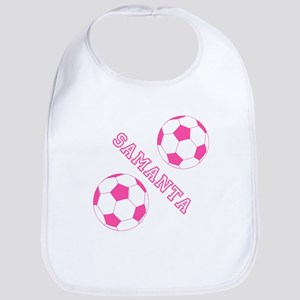 Soccer Girl Personalized Bib