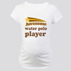 Water Polo Player Maternity T-Shirt