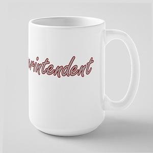 Superintendent Artistic Job Design Mugs