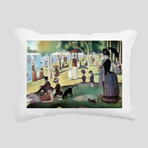 Sunday Afternoon by Seur Rectangular Canvas Pillow