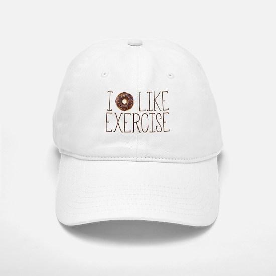 I Donut Like Exercise Baseball Baseball Baseball Cap