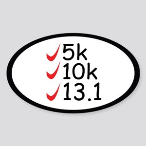 Running goals Sticker