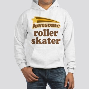 Awesome Roller Skater Hooded Sweatshirt