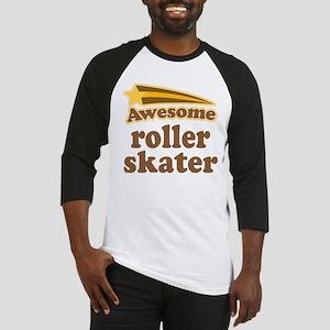 Awesome Roller Skater Baseball Jersey