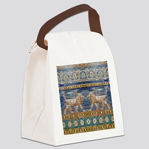 Egypt Mosaic Canvas Lunch Bag