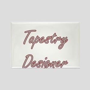Tapestry Designer Artistic Job Design Magnets