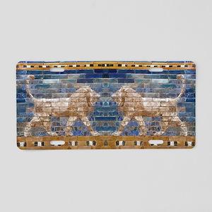 Egypt Mosaic Aluminum License Plate