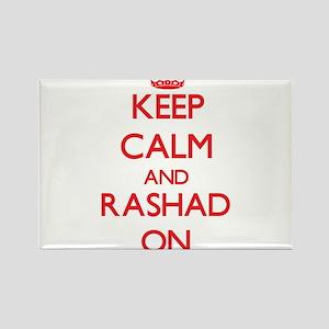 Keep Calm and Rashad ON Magnets