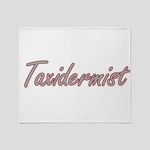 Taxidermist Artistic Job Design Throw Blanket