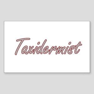 Taxidermist Artistic Job Design Sticker