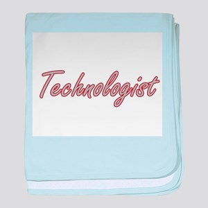 Technologist Artistic Job Design baby blanket