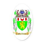 MacArtain Oval Car Magnet