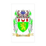 MacArtain Sticker (Rectangle 10 pk)
