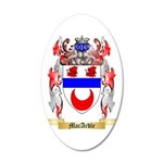 MacArdle 35x21 Oval Wall Decal