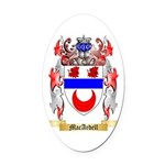 MacArdell Oval Car Magnet