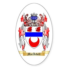 MacArdell Sticker (Oval 10 pk)