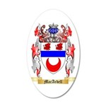 MacArdell 35x21 Oval Wall Decal