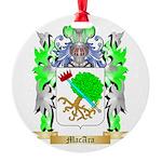 MacAra Round Ornament
