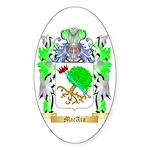 MacAra Sticker (Oval 50 pk)