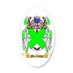 MacAodha Oval Car Magnet