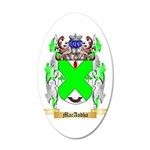 MacAodha 20x12 Oval Wall Decal