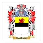 MacAneany Square Car Magnet 3