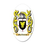 MacAndrew 35x21 Oval Wall Decal