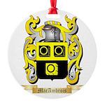 MacAmbrois Round Ornament