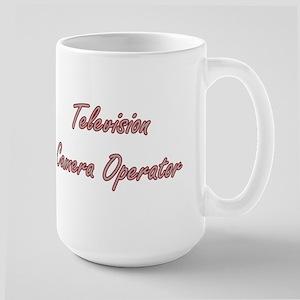 Television Camera Operator Artistic Job Desig Mugs