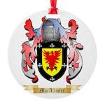 MacAllister Round Ornament