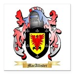 MacAllister Square Car Magnet 3
