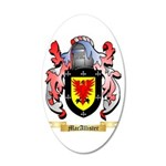 MacAllister 35x21 Oval Wall Decal