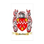 MacAlley Sticker (Rectangle 10 pk)