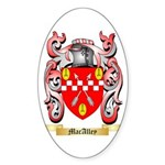 MacAlley Sticker (Oval 50 pk)