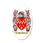 MacAlley 20x12 Oval Wall Decal