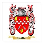 MacAllay Square Car Magnet 3
