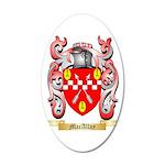 MacAllay 35x21 Oval Wall Decal