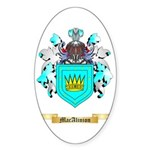 MacAlinion Sticker (Oval 50 pk)