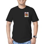 MacAlester Men's Fitted T-Shirt (dark)