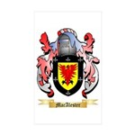 MacAlester Sticker (Rectangle 50 pk)